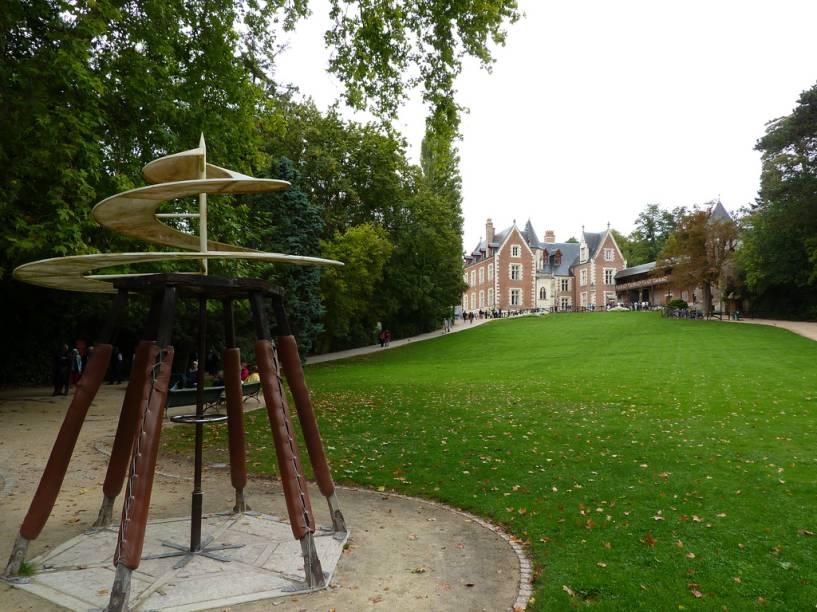 Foi na mansão de Clos-Lucé, próxima ao castelo de Amboise, que Leonardo da Vinci passou os últimos anos de sua vida