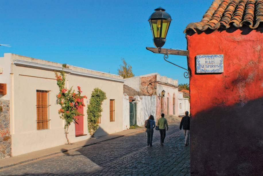 Colônia de Sacramento, cidade fundada pelos portugueses, é um dos destinos turísticos mais populares do Uruguai