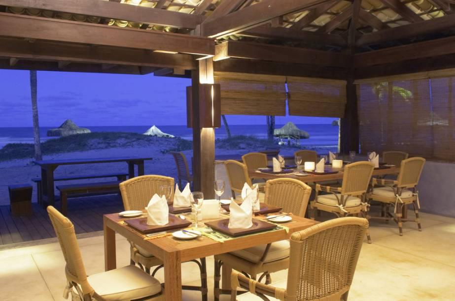 Restaurante da Praia no Hotel Transamérica Ilha de Comandatuba, na Bahia