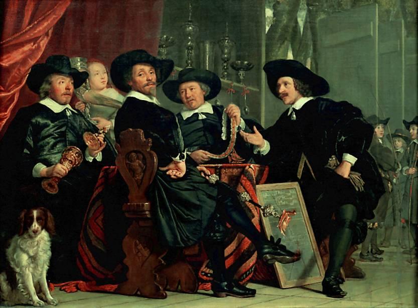 Confraria de São Sebastião de Amsterdã, Bartholomeus van der Helst, Museu do Louvre