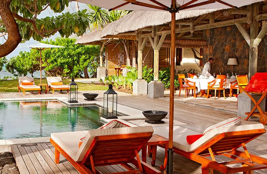 <strong>17. Constance Le Prince Maurice, Poste de Flacq, Ilhas Maurício</strong>Em outro paraíso tropical, o destaque deste hotel são as piscinas de frente para a praia e o restaurante de alta gastronomia com mesas em varandas com vista para o mar.Mês mais barato para se hospedar: Junho