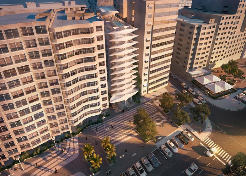 O único projeto para o Brasil feito por Zaha foi o prédio residencial Casa Atlântica, na orla de Copacabana, que deverá ser erguido em um terreno quase na esquina com a Rua Santa Clara. O projeto ainda não saiu do papel