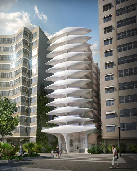 O terreno em que o edifício de Zaha deverá ser erguido era ocupado por um antigo casarão, que foi comprado pelo empresário Omar Peres por R$ 32 milhões