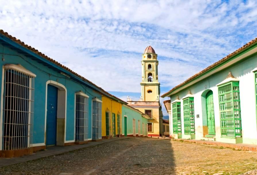 Centro histórico de Trinidad, em Cuba, joia colonial cubana tombada pela Unesco desde 1988