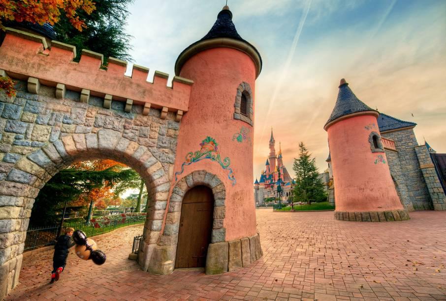 A Disneyland Paris é um bom passeio para quem viaja com crianças