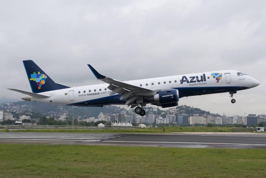 A Azul ficou em quarto lugar no ranking geral de linhas aéreas da América do Sul