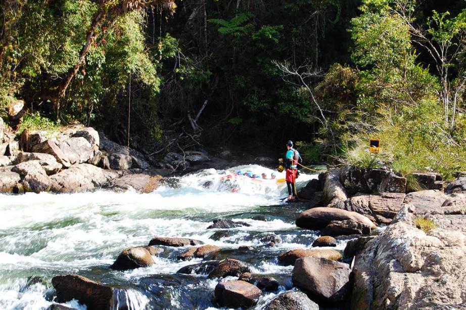 A cidade de São Luiz do Paraitinga também é muito procurada por praticantes de esportes de aventura