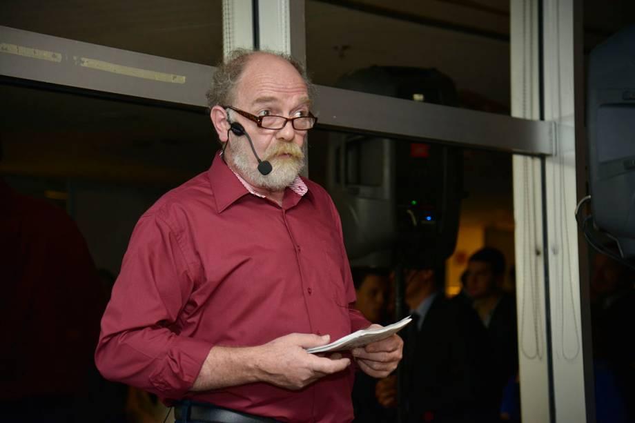 Quem apresentou a 14ª edição do prêmio foi o ator Artur Kohl