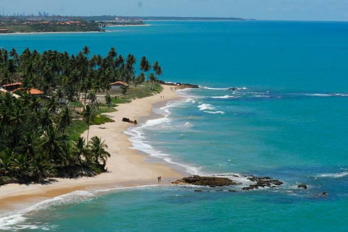 Praia de Coqueirinho, em Conde, Paraíba