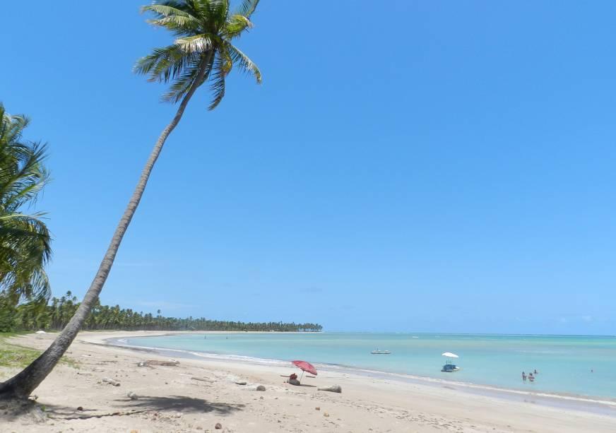 Passar o dia na areia de papo pro ar naquele paraíso quase deserto já é um baita de um programa, mas as piscinas naturais são o clímax