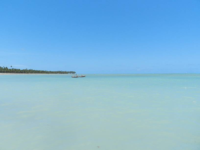 Apesar da claridade, dispense os óculos escuros e aprecie o horizonte do Patacho #semfiltro