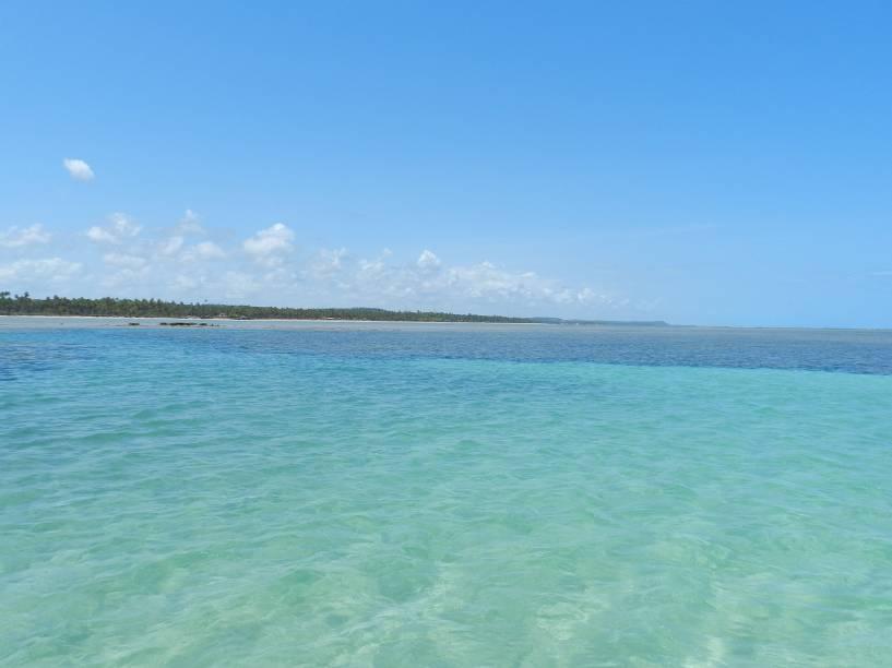 De costas para os arrecifes, de frente para o coqueiral