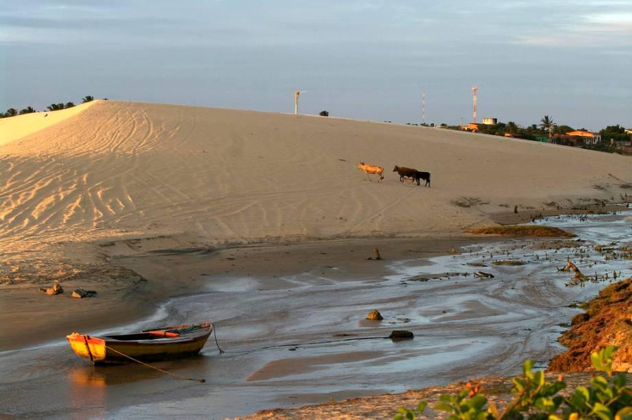 """<strong>5. <a href=""""/cidades/br-ce-trairi"""" rel=""""Trairi"""" target=""""_blank"""">Trairi</a> (2 dias)</strong>    Depois de dar uma parada em Lagoinha, visite as vilas de pescadores e praias desertas de <a href=""""http://viajeaqui.abril.com.br/estabelecimentos/br-ce-trairi-atracao-praia-guajiru"""" rel=""""Guajiru"""">Guajiru</a>, <a href=""""http://viajeaqui.abril.com.br/estabelecimentos/br-ce-trairi-atracao-praia-flecheiras"""" rel=""""Flecheiras"""">Flecheiras</a> e <a href=""""http://viajeaqui.abril.com.br/estabelecimentos/br-ce-trairi-atracao-praia-mundau"""" rel=""""Mundaú""""><strong>Mundaú</strong></a>."""