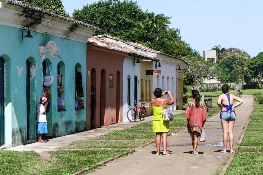 O Centro de Porto Seguro foi o primeiro núcleo habitacional a ser criado no Brasil