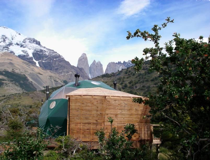 O Eco Camp possui uma proposta muito interessante, com uso inteligente de energia e tratamento adequado de dejetos e lixo. Sua localização junto às Torres del Paine demanda esse tipo de tratamento