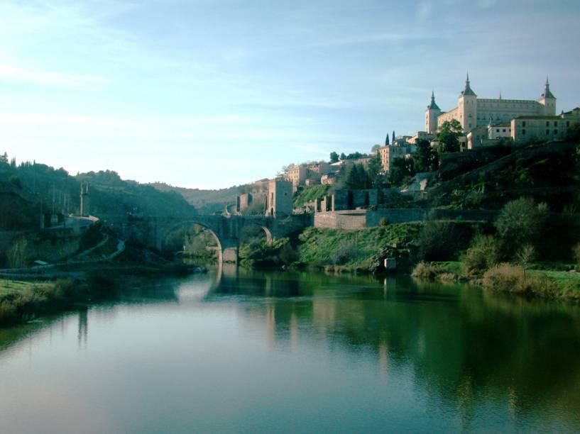 """Paisagem que transporta ao passado, em <a href=""""http://viajeaqui.abril.com.br/cidades/espanha-toledo"""" rel=""""Toledo"""" target=""""_blank"""">Toledo</a>, <a href=""""http://viajeaqui.abril.com.br/paises/espanha"""" rel=""""Espanha"""" target=""""_blank"""">Espanha</a>"""