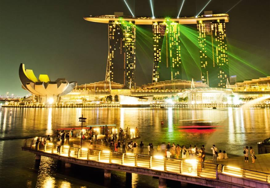 O complexo Marina Bay Sands