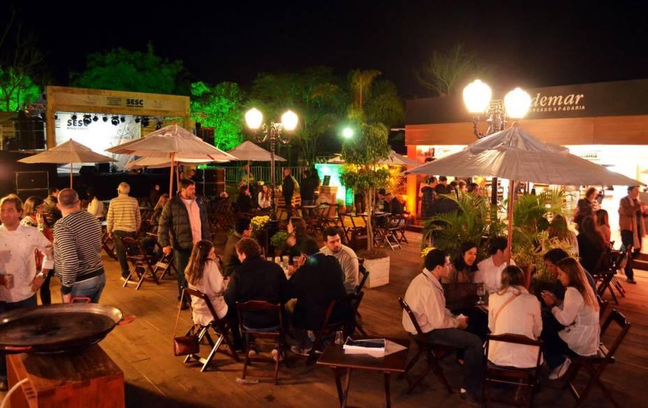 Edição de 2012 do Festival de Cultura e Gastronomia de Tiradentes