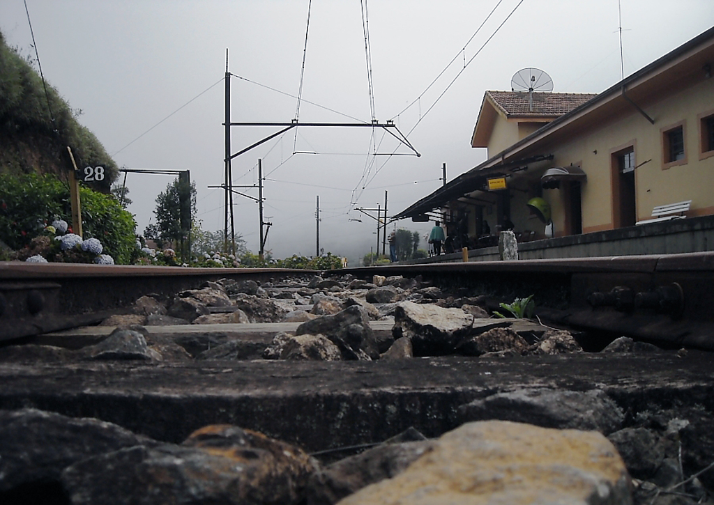 Estação de trem desativada em Santo Antônio do Pinhal, São Paulo