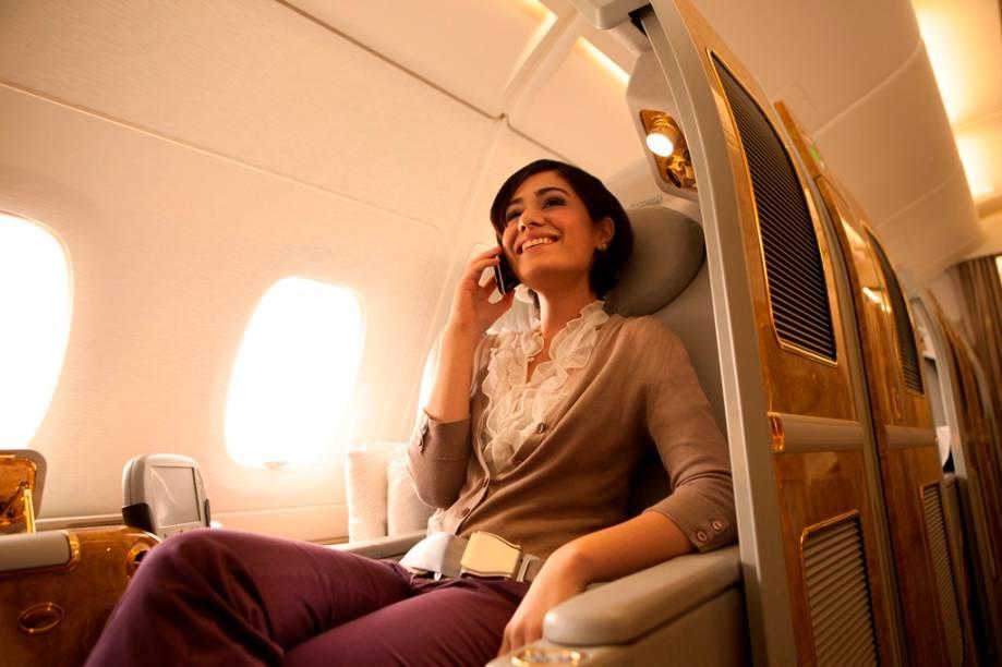 A Emirates possui voos diários para Dubai partindo de São Paulo e Rio de Janeiro
