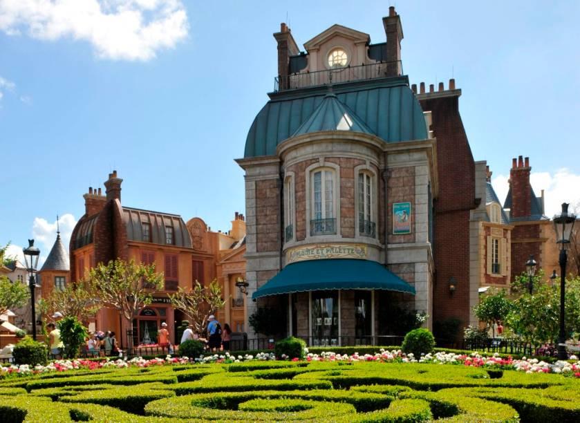 Pavilhão da França no World Showcase, uma das atrações do Epcot Center