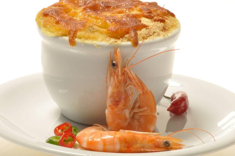 Escondidinho de camarão, uma das delícias que serão servidas no evento