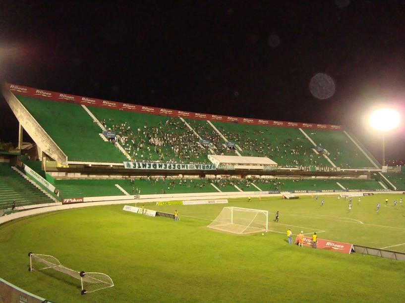 O Estádio Brinco de Ouro da Princesa é um marco de Campinas e é o estádio do Guarani Futebol Clube. É o maior estádio da cidade e já possui muita história: ele foi inaugurado em 31 de maio de 1953