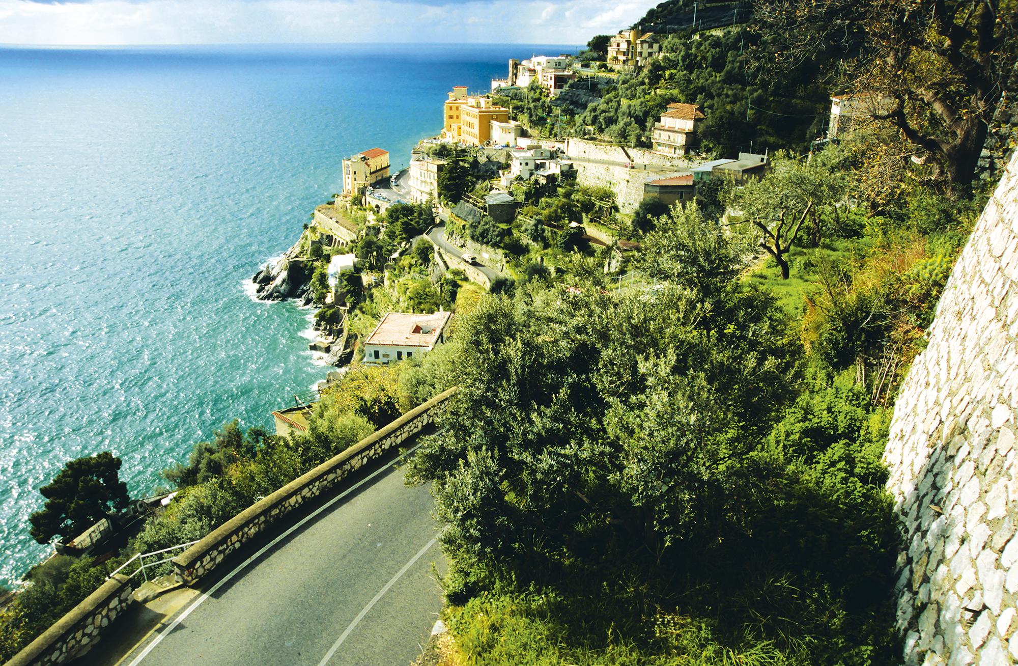 Estrada SS-163, Costa Amalfitana, Itália