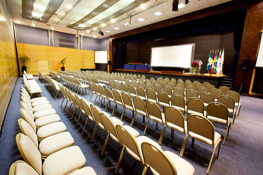 Sala de eventos do Costão do Santinho Resort, em Florianópolis, Santa Catarina