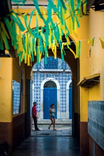 Casario histórico em São Luís