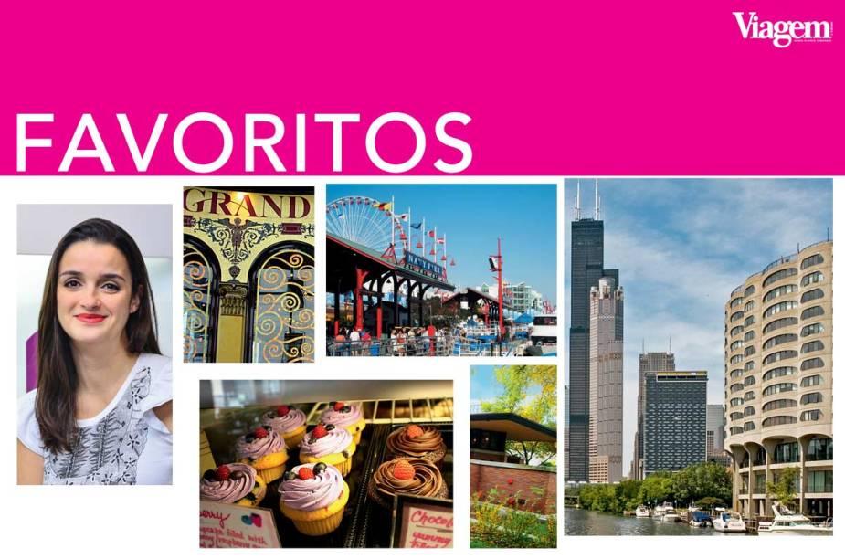 Daniela Sagradi, diretora de eventos da High Up, deu dicas de lugares para quem viaja sozinho em Chicago.