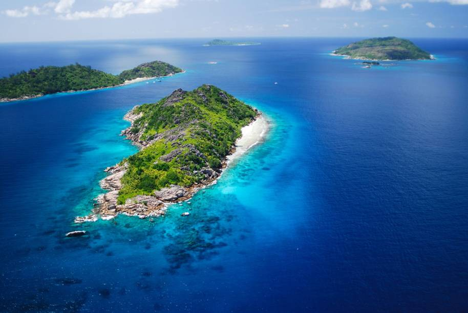 Felicite and Sister Islands, Seychelles