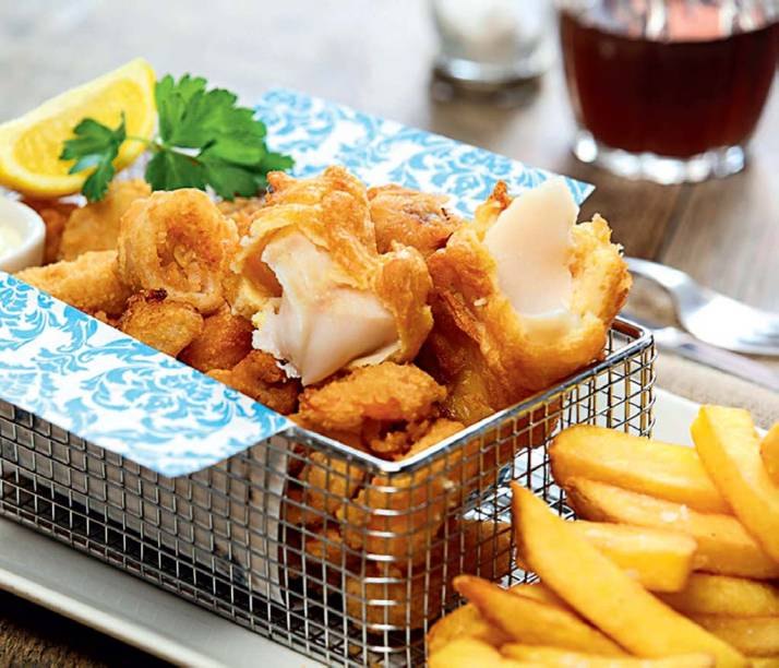 Fish and chips do Porcupine