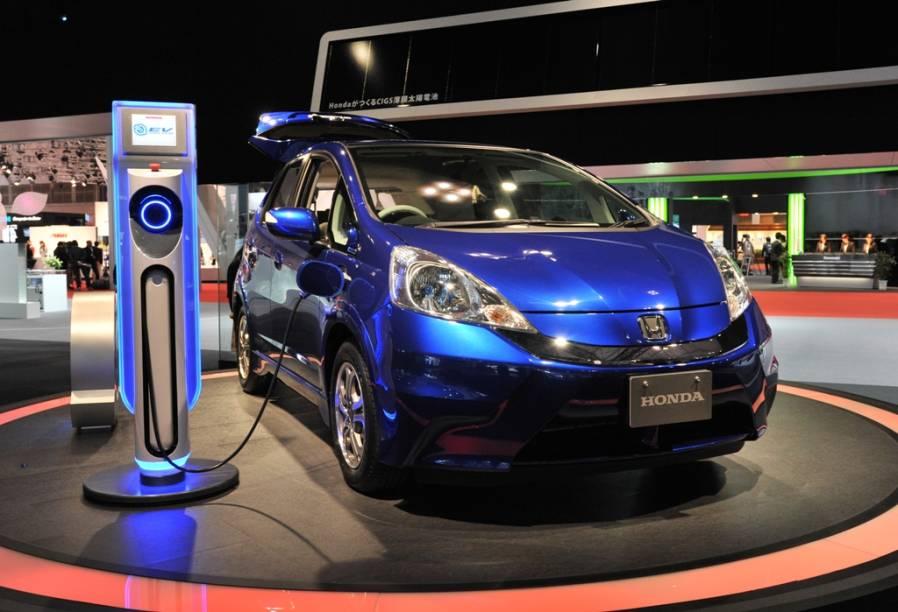 Conceito Honda Fit EV, o carro de motor elétrico que a companhia japonesa planeja colocar no mercado em 2012
