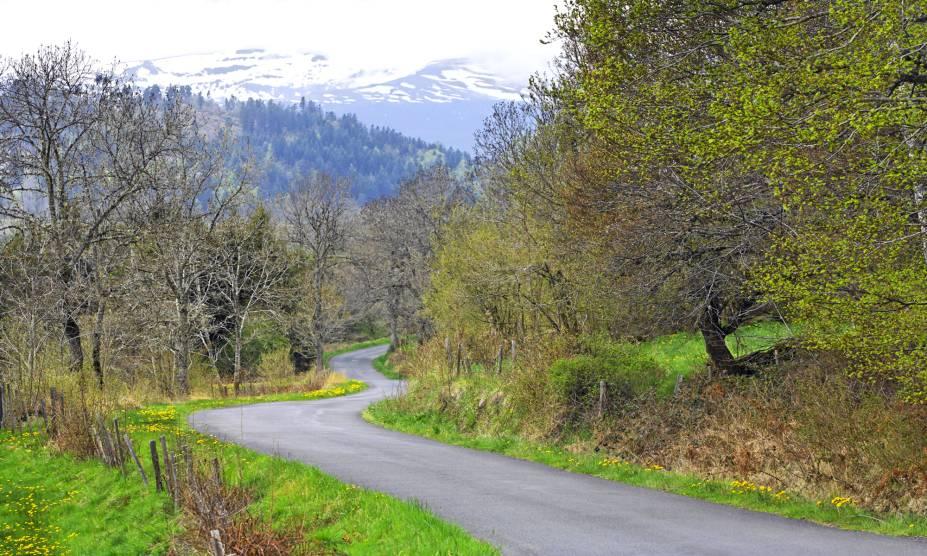 """<strong>30. Floresta de Auvergne, <a href=""""http://viajeaqui.abril.com.br/paises/franca"""" rel=""""França"""" target=""""_self"""">França</a></strong>            A Auvérnia é uma das mais importantes regiões administrativas da França – e um dos grandes pontos de encontro entre o ser humano e a natureza no país. Repleta de lagos e bosques, possui rotas históricas que passam por belas igrejas e castelos. Sua floresta abriga muitas árvores retorcidas e outras espécies mortas, que tornam os cenários propensos à criação de mitos e lendas. Uma delas narra que um lobo dourado habitava a região e assombrava as ovelhas, mas acabou sendo enfrentado por uma jovem mulher e aprisionado em um dos bosques. A história original, por outro lado, conta que a região já foi muito disputada por condes e palco de muitas revoltas. Hoje em dia, seu cenário tranquilo e cercado por montanhas despertam o melhor da imaginação do visitante."""