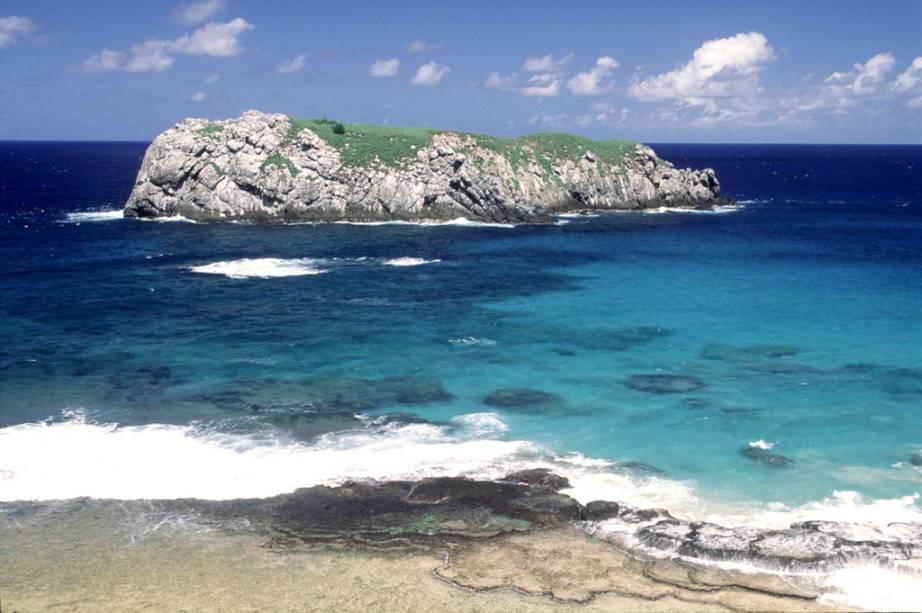 A<strong> Praia do Leão</strong> é a maior do arquipélago e também a que tem o maior índice de desova de tartarugas marinhas