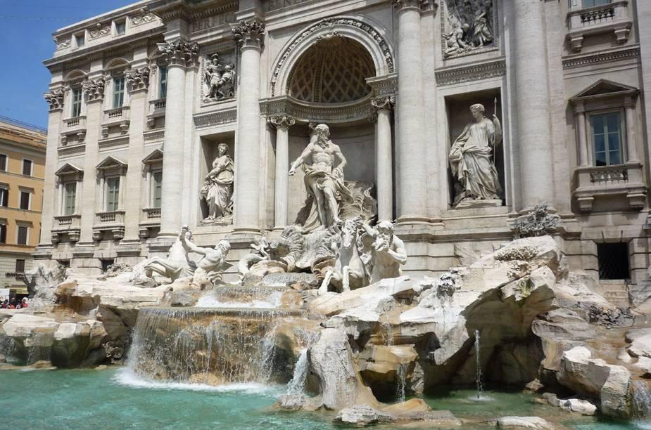 Já tinha a Fontana di Trevi...