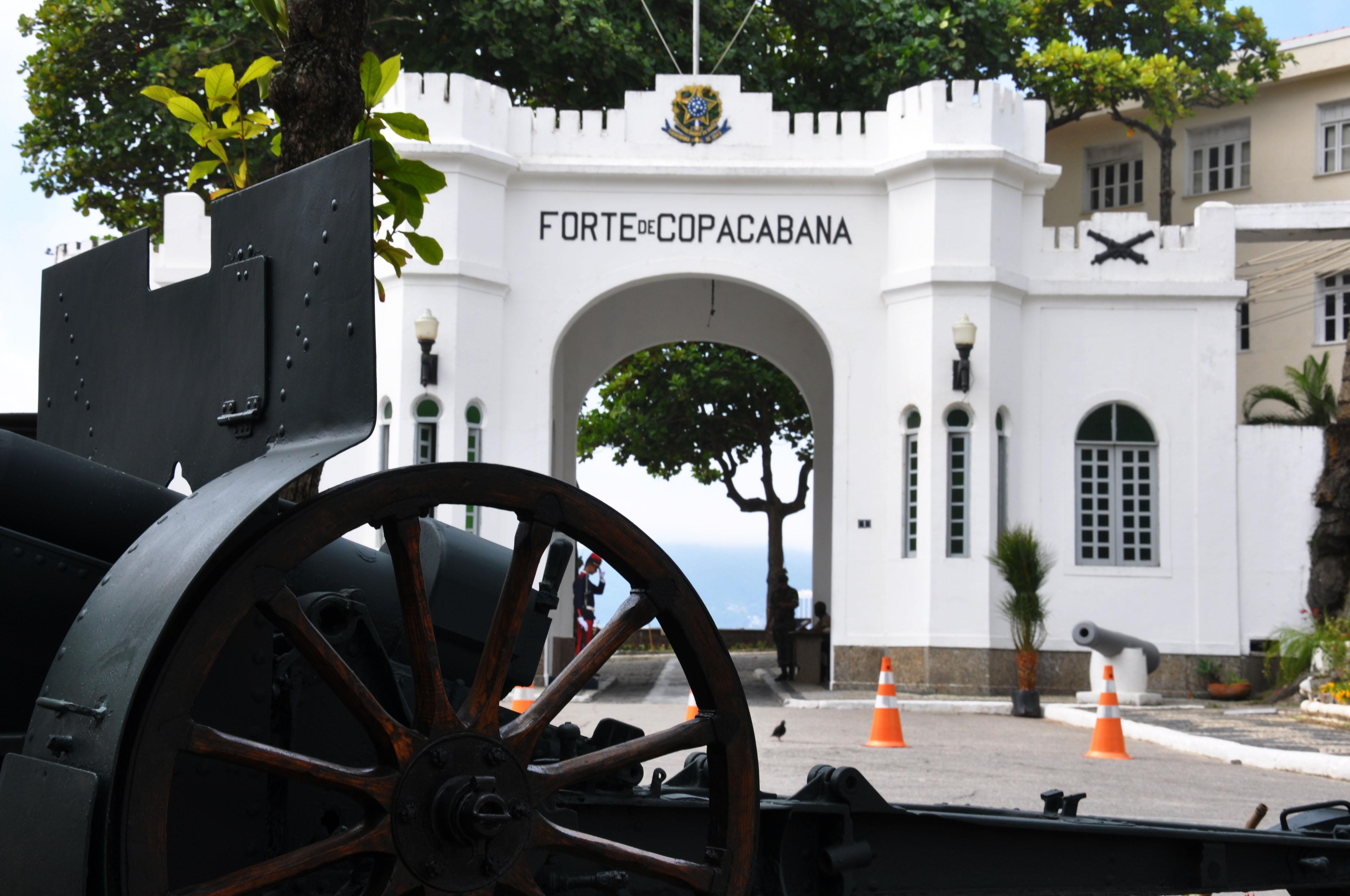 Forte de Copacabana, no Rio de Janeiro