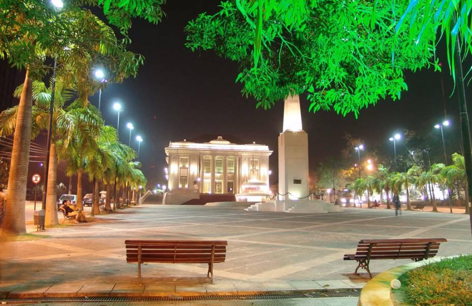 Inaugurado em 1930, o Palácio Rio Branco foi inspirado na arquitetura grega