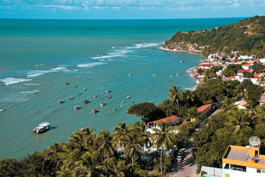 A Praia da Pipa é a queridinha do turismo potiguar pelas lindas praias, golfinhos, bons hotéis e noite agitada