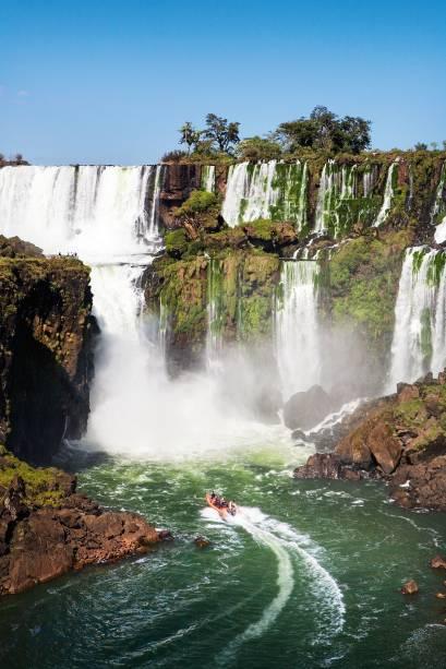 Gran Aventura, o passeio de barco do lado argentino