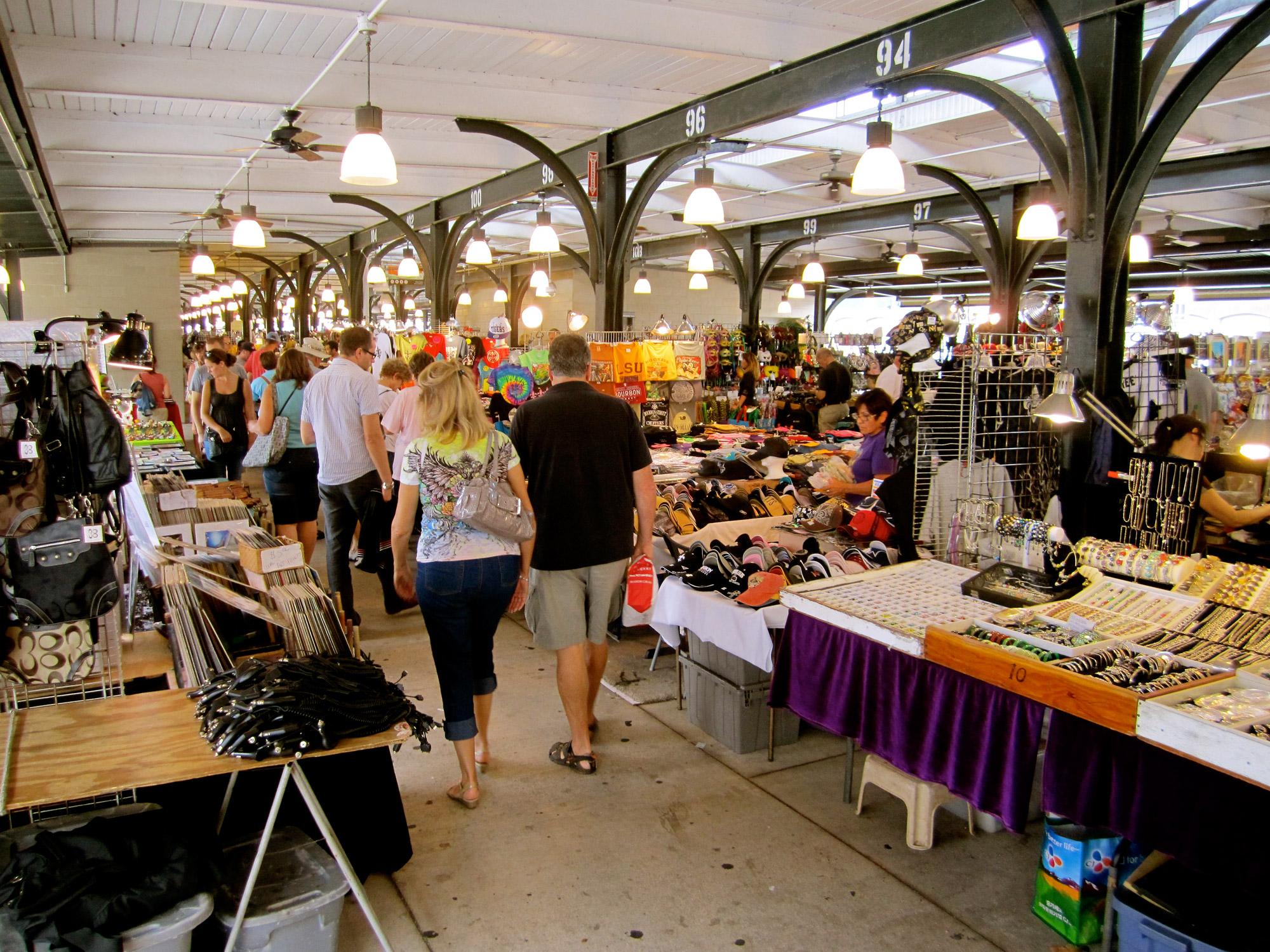 French Market, em Nova Orleans, Estados Unidos