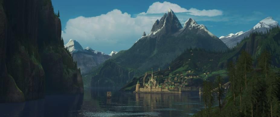 O reino fictício de Arendelle foi inspirado nas paisagens da Noruega