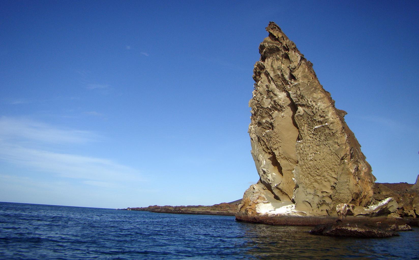 Rocha Pináculo, Galápagos, Equador