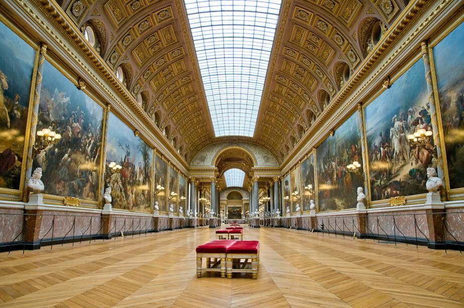 Galeria das Batalhas no Palácio de Versalhes