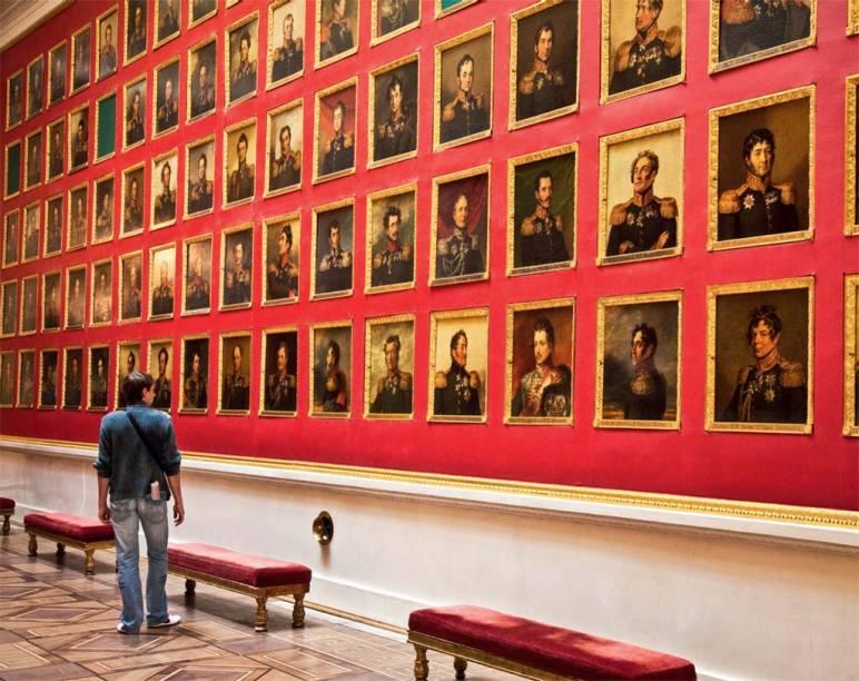 Galeria de fotos do Museu Hermitage