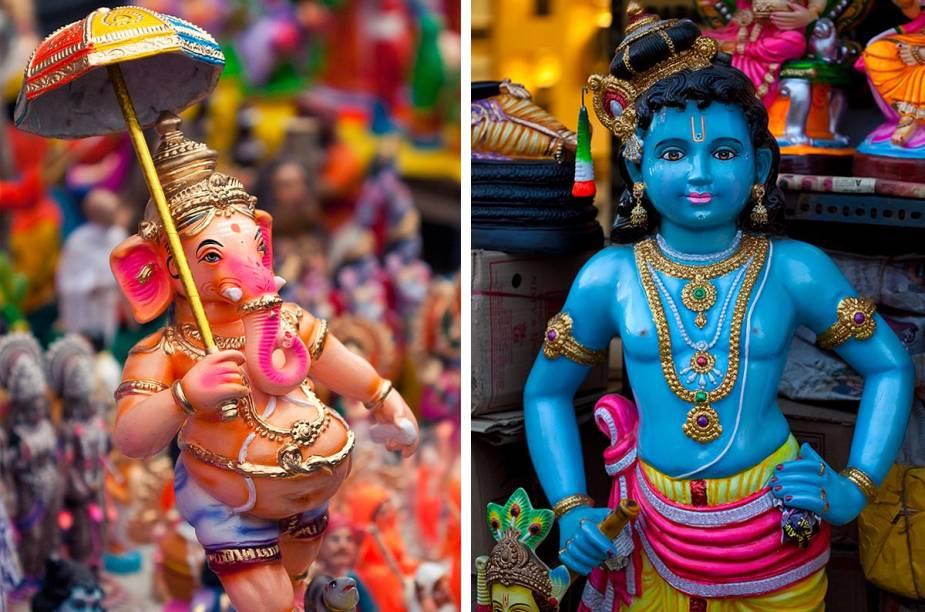 """""""Na Índia existem tantos deuses quanto os números de devotos"""", já dizia o guru Sri Ramakrishna no século 19"""