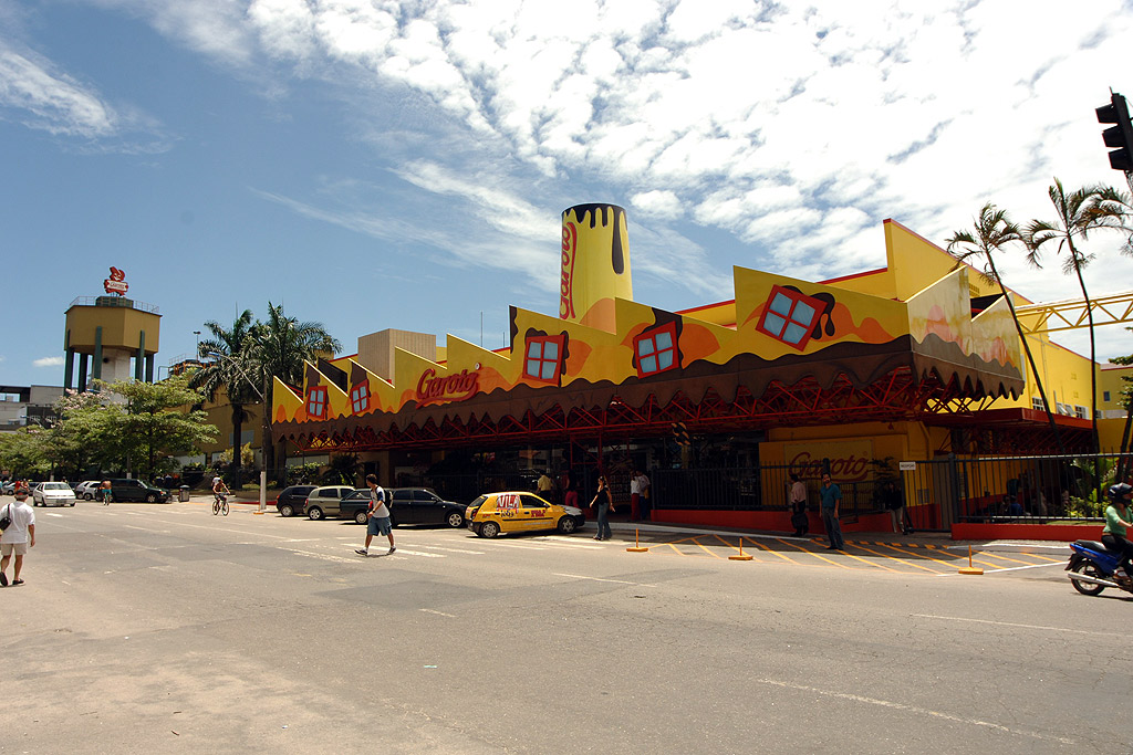 Fábrica de chocolate da Garoto, em Vila Velha, no Espírito Santo