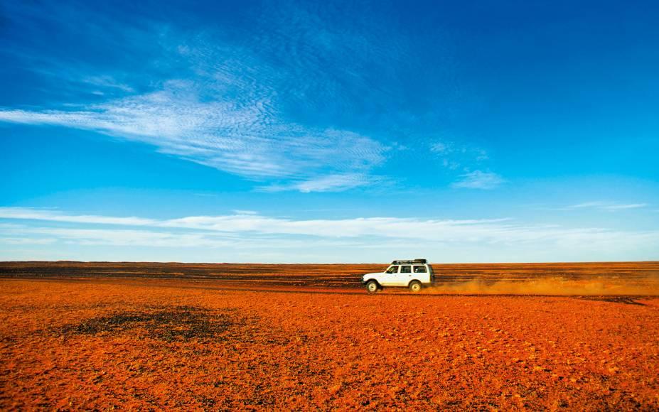 O Outback ocupa 70% do território australiano