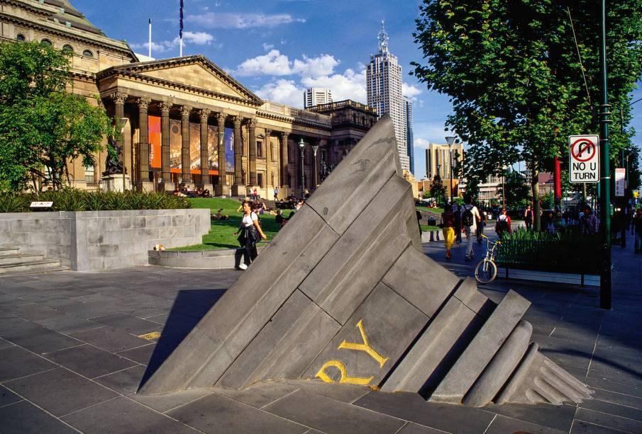 A State Library of Victoria, biblioteca pública de Melbourne